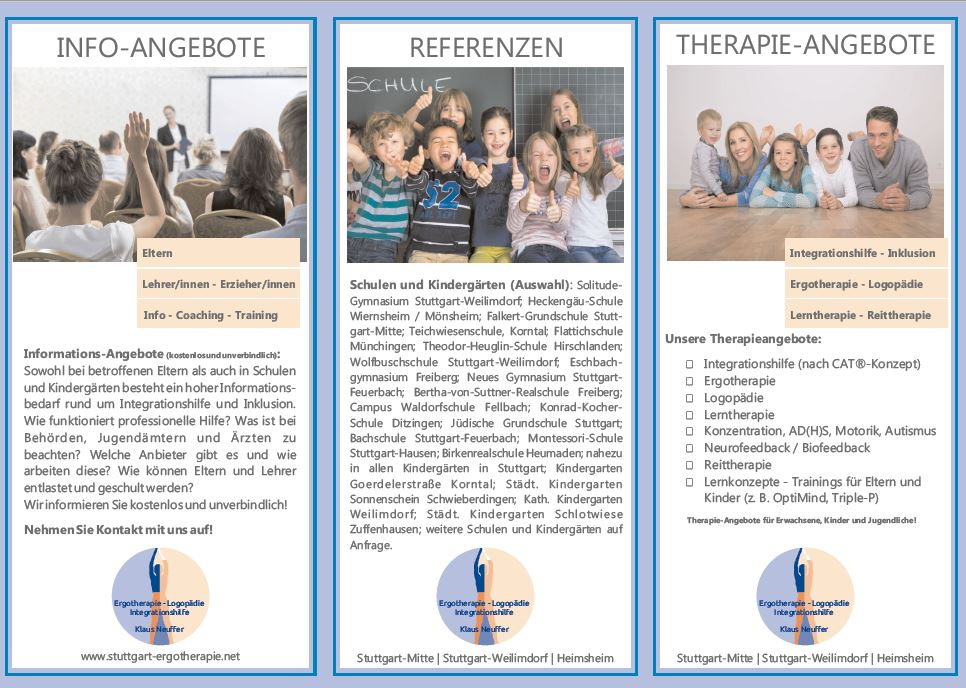Integrationshilfe Inklusion Stuttgart Pforzheim Ludwigsburg Leonberg Heimsheim Böblingen Sindelfingen